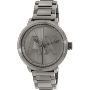 Armani Exchange Men's AX1362 Grey Stainless-Steel Quartz Watch