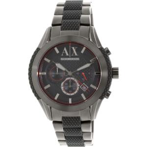 Armani Exchange Men's AX1387 Black Stainless-Steel Quartz Watch