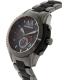 Armani Exchange Men's AX1387 Black Stainless-Steel Quartz Watch - Side Image Swatch