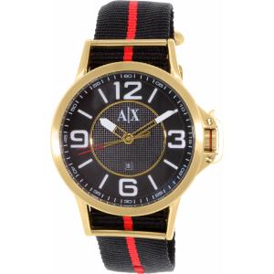 Armani Exchange Men's AX1581 Black Nylon Quartz Watch