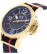 Armani Exchange Men's AX1581 Black Nylon Quartz Watch - Side Image Swatch