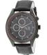Armani Exchange Men's AX1610 Black Leather Quartz Watch - Main Image Swatch