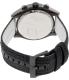 Armani Exchange Men's AX1610 Black Leather Quartz Watch - Back Image Swatch