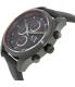 Armani Exchange Men's AX1610 Black Leather Quartz Watch - Side Image Swatch
