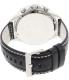 Armani Exchange Men's AX1754 Black Leather Quartz Watch - Back Image Swatch