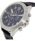 Armani Exchange Men's AX1756 Navy Leather Quartz Watch - Side Image Swatch