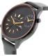 Armani Exchange Men's AX2168 Black Leather Quartz Watch - Side Image Swatch