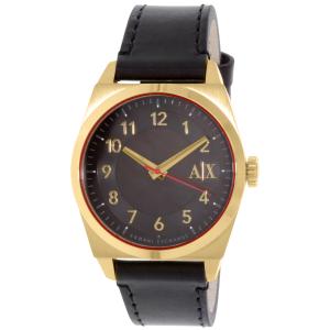 Armani Exchange Men's AX2306 Black Leather Quartz Watch
