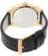 Armani Exchange Men's AX2306 Black Leather Quartz Watch - Back Image Swatch