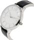 Armani Exchange Women's AX5309 Black Leather Quartz Watch - Side Image Swatch