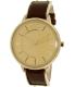 Armani Exchange Women's AX5310 Gold Leather Quartz Watch - Main Image Swatch