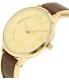 Armani Exchange Women's AX5310 Gold Leather Quartz Watch - Side Image Swatch