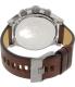 Diesel Men's DZ4350 Brown Leather Leather Quartz Watch - Back Image Swatch