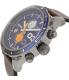 Diesel Men's DZ4350 Brown Leather Leather Quartz Watch - Side Image Swatch