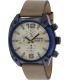 Diesel Men's DZ4356 Beige Leather Quartz Watch - Main Image Swatch
