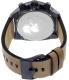Diesel Men's DZ4356 Beige Leather Quartz Watch - Back Image Swatch