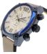 Diesel Men's DZ4356 Beige Leather Quartz Watch - Side Image Swatch