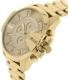 Diesel Men's DZ4360 Gold Stainless-Steel Quartz Watch - Side Image Swatch