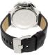 Diesel Men's DZ4361 Black Leather Quartz Watch - Back Image Swatch