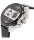 Diesel Men's DZ4361 Black Leather Quartz Watch - Side Image Swatch