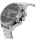 Diesel Men's DZ4363 Silver Stainless-Steel Quartz Watch - Side Image Swatch