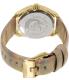 Diesel Women's DZ5460 Gold Leather Quartz Watch - Back Image Swatch