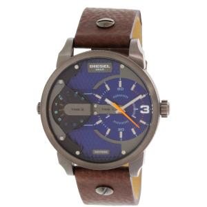 Diesel Men's DZ7339 Brown Leather Quartz Watch