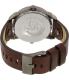 Diesel Men's DZ7339 Brown Leather Quartz Watch - Back Image Swatch
