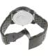 Diesel Men's DZ7340 Black Stainless-Steel Quartz Watch - Back Image Swatch