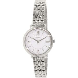 Fossil Women's Jacqueline ES3797 Silver Stainless-Steel Quartz Watch