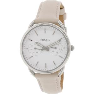 Fossil Women's Tailor ES3806 Beige Leather Quartz Watch