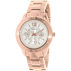 Fossil Women's ES3815 Rose Gold Stainless-Steel Quartz Watch