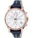 Fossil Women's ES3838 Blue Leather Quartz Watch - Main Image Swatch