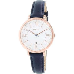 Fossil Women's ES3843 Blue Leather Quartz Watch