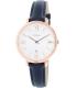 Fossil Women's ES3843 Blue Leather Quartz Watch - Main Image Swatch