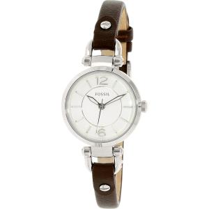 Fossil Women's ES3861 Brown Leather Quartz Watch