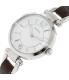 Fossil Women's ES3861 Brown Leather Quartz Watch - Side Image Swatch