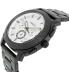 Fossil Men's FS5092 Black Stainless-Steel Quartz Watch - Side Image Swatch
