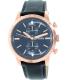 Fossil Men's FS5097 Black Leather Quartz Watch - Main Image Swatch