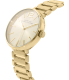 Marc by Marc Jacobs Women's Peggy MBM3401 Gold Stainless-Steel Quartz Watch - Side Image Swatch