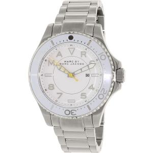 Marc by Marc Jacobs Women's Dizz MBM3407 Silver Stainless-Steel Quartz Watch