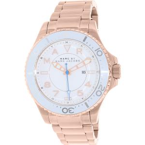 Marc by Marc Jacobs Women's Dizz MBM3409 Rose Gold Stainless-Steel Quartz Watch