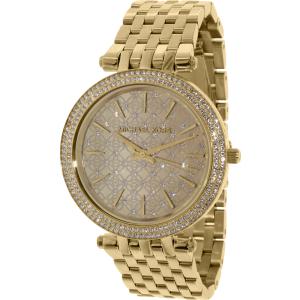 Michael Kors Women's Darci MK3398 Gold Stainless-Steel Quartz Watch