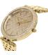 Michael Kors Women's Darci MK3398 Gold Stainless-Steel Quartz Watch - Side Image Swatch