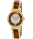 Michael Kors Women's Catlin MK3411 Brown Stainless-Steel Quartz Watch - Main Image Swatch