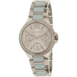 Michael Kors Women's Camille MK4306 Silver Stainless-Steel Quartz Watch