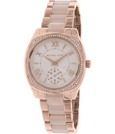 Michael Kors Women's MK6135 Rose Gold Stainless-Steel Quartz Watch