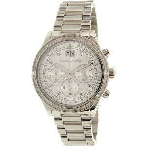 Michael Kors Women's Brinkley MK6186 Silver Stainless-Steel Quartz Watch
