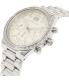 Michael Kors Women's Brinkley MK6186 Silver Stainless-Steel Quartz Watch - Side Image Swatch