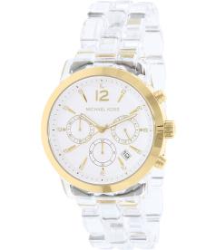 Michael Kors Women's MK6200 Gold Plastic Quartz Watch